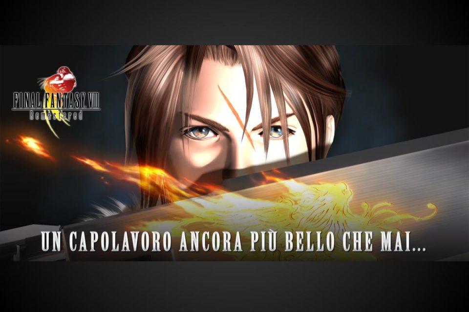 Final Fantasy VIII Remastered è ora disponibile per iOS e Android