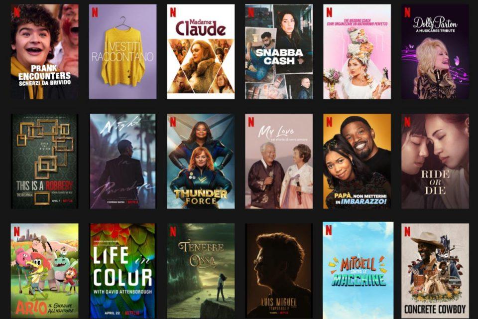 Tutte le novità di Aprile in arrivo su Netflix