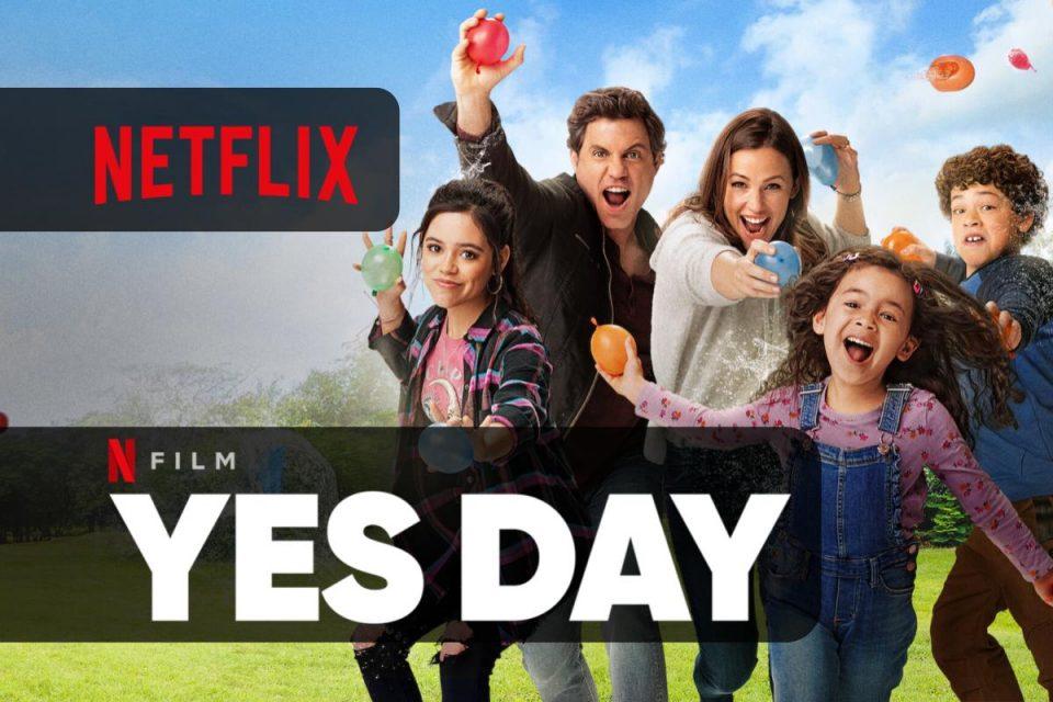 YES DAY una nuova commedia per tutta la famiglia è disponibile su Netflix