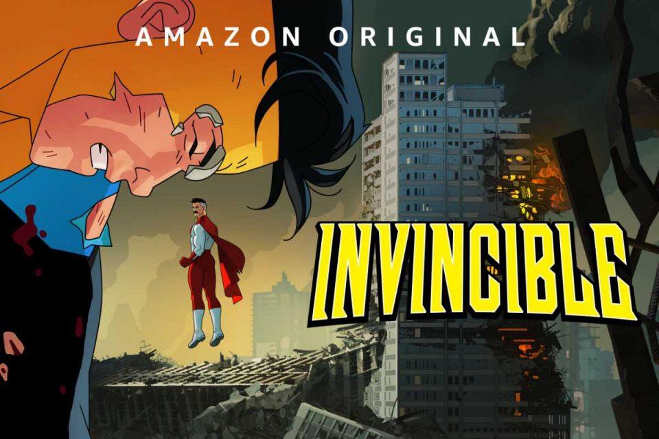 invincible amazon original prime video serie animata