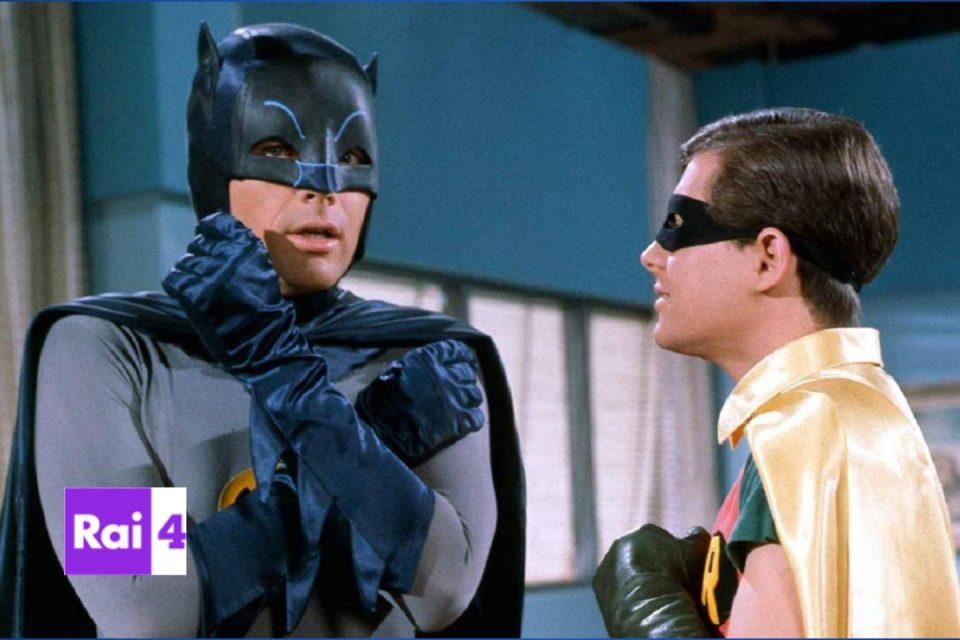 Batman la serie classica anni '60 per la prima volta su rai4