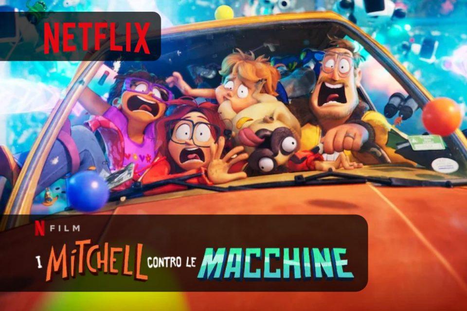 I Mitchell contro le macchine una commedia d'azione arriva su Netflix