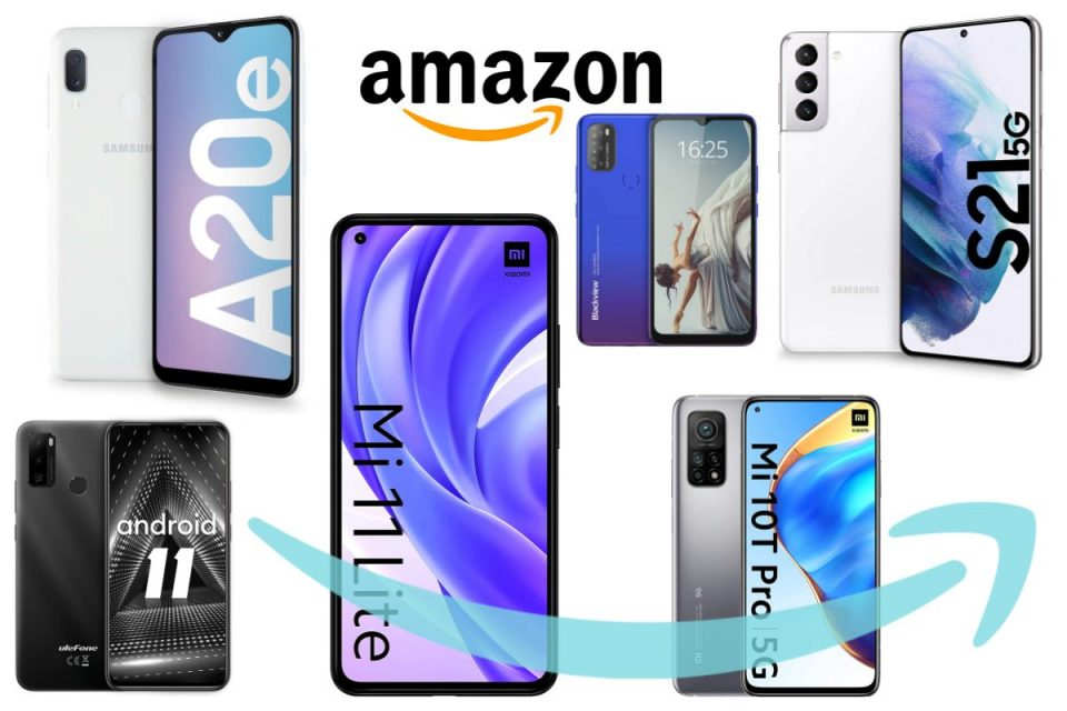 I migliori Smartphone Android in offerta su Amazon