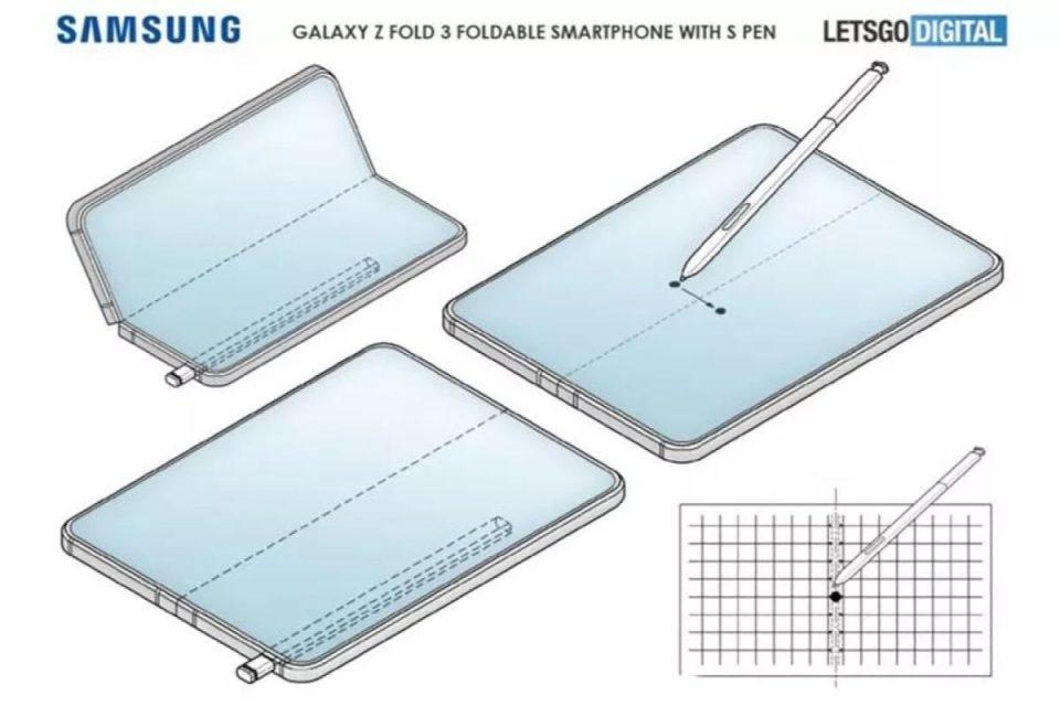Il Galaxy Z Fold 3 potrebbe aggiungere il supporto per S Pen ma senza slot integrato