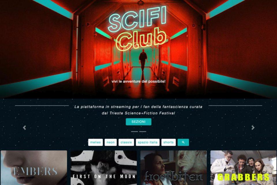 In arrivo la prima piattaforma digitale italiana dedicata al cinema di fantascienza curata dal Trieste Science+Fiction Festival
