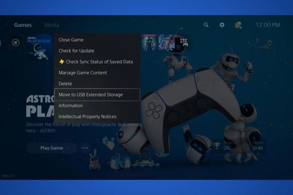L'aggiornamento per PS5 introduce nuove opzioni di archiviazione e funzionalità social