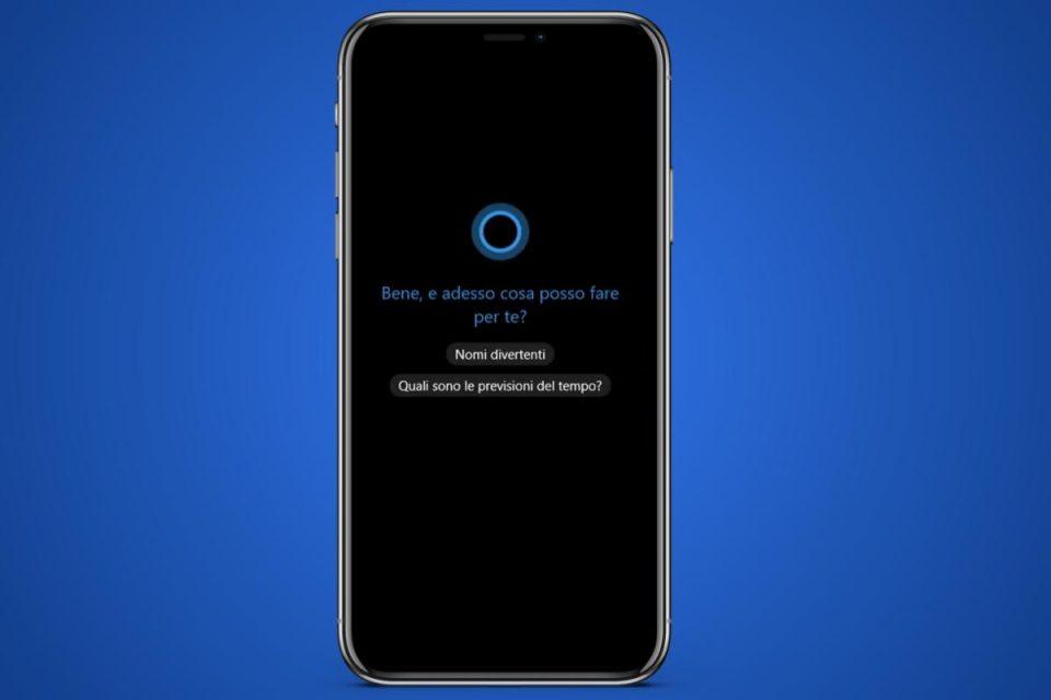 Microsoft interrompe definitivamente il supporto all'app Cortana per iOS e Android