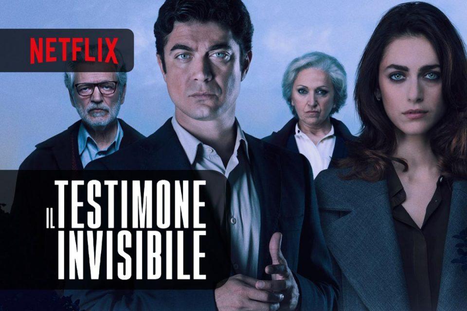 Su Netflix puoi vedere il Film Il testimone invisibile con Riccardo Scamarcio