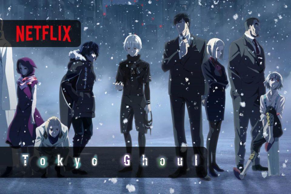 Tokyo Ghoul aggiunti su Netflix i 12 episodi finali della stagione 3