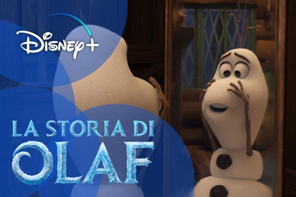 Frozen Fever e La Storia di Olaf disponibile su Disney+