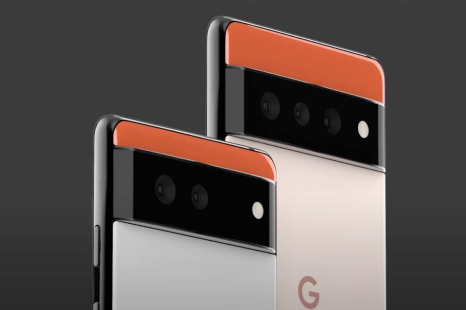 Google Pixel 6 rivela una riprogettazione radicale