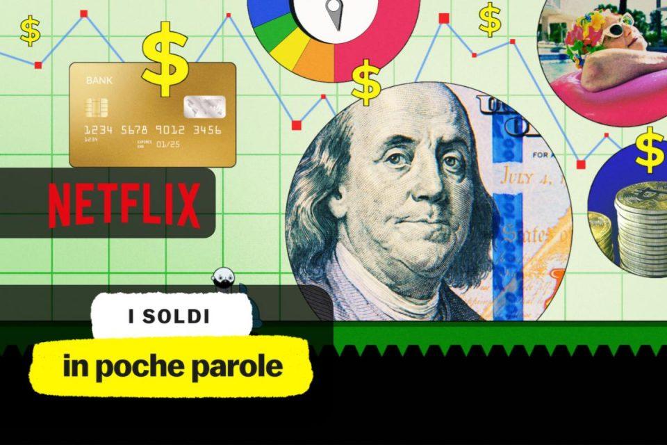 I soldi in poche parole da oggi disponibile la Miniserie su Netflix