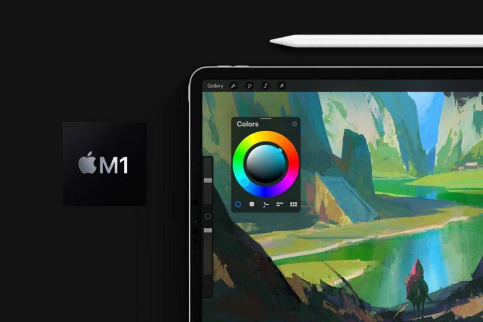 Procreate aggiornato con prestazioni migliori e più livelli per gli utenti di iPad Pro M1