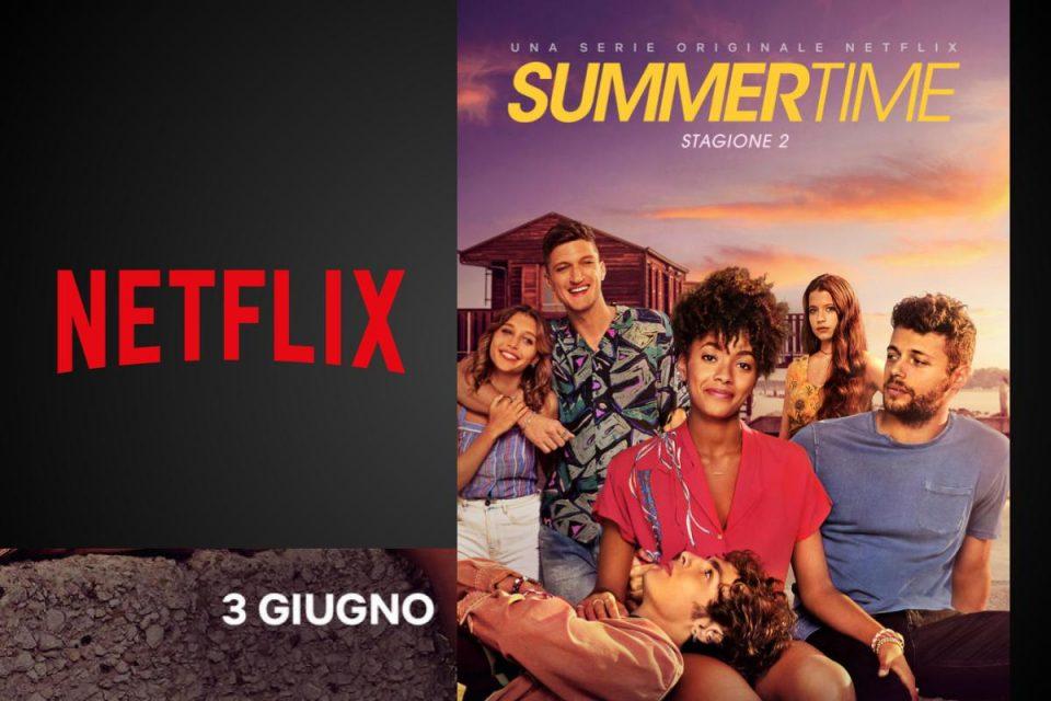 SUMMERTIME: la seconda stagione dal 3 giugno solo su Netflix.