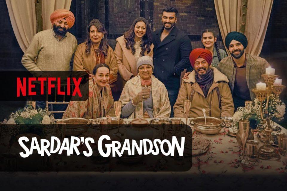 Sardar's Grandson arriva oggi su Netflix un Film sentimentale e bizzarro