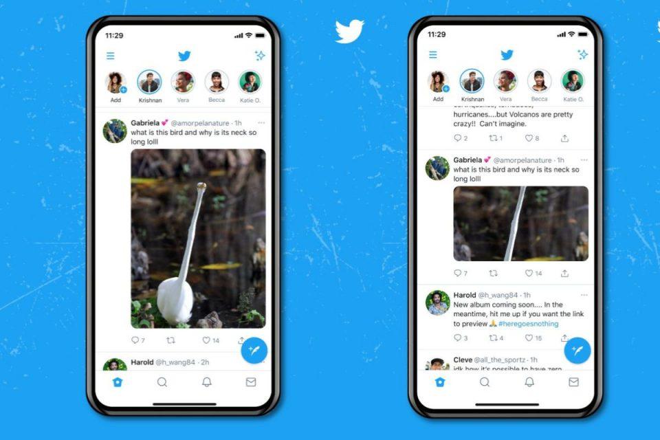 Twitter lancia anteprime di immagini più grandi sui dispositivi mobili