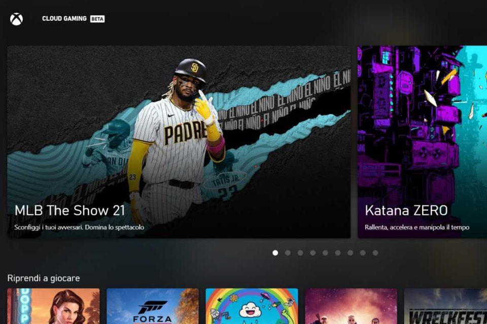 XCloud - Xbox cloud gaming beta