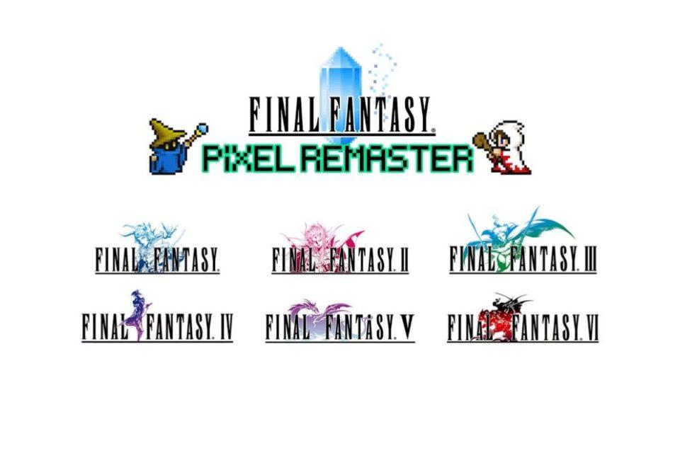 """La serie """"Final Fantasy Pixel Remaster"""" inizierà la distribuzione dal prossimo mese su iOS, Android e Steam"""