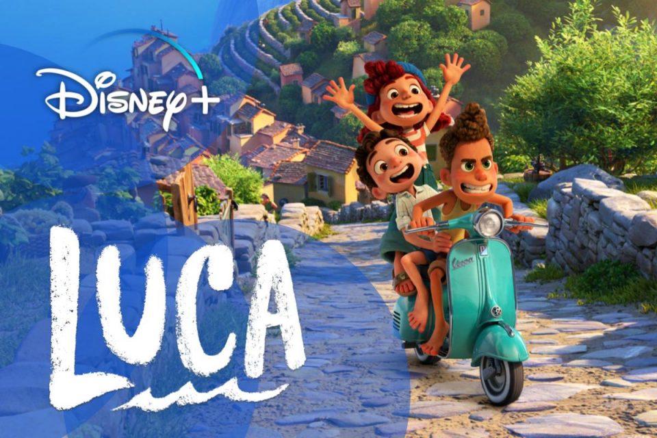 Luca il nuovo Capolavoro Disney-Pixar è disponibile per lo streaming su Disney+