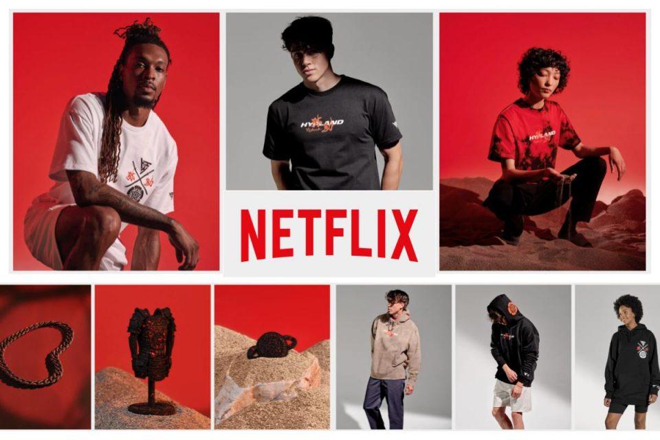 Netflix lancia il negozio online con articoli a marchio Netflix