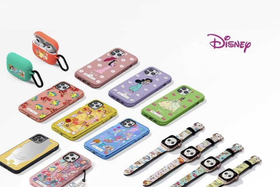 Casetify annuncia la nuova linea di custodie per iPhone principessa Disney, cinturini per Apple Watch