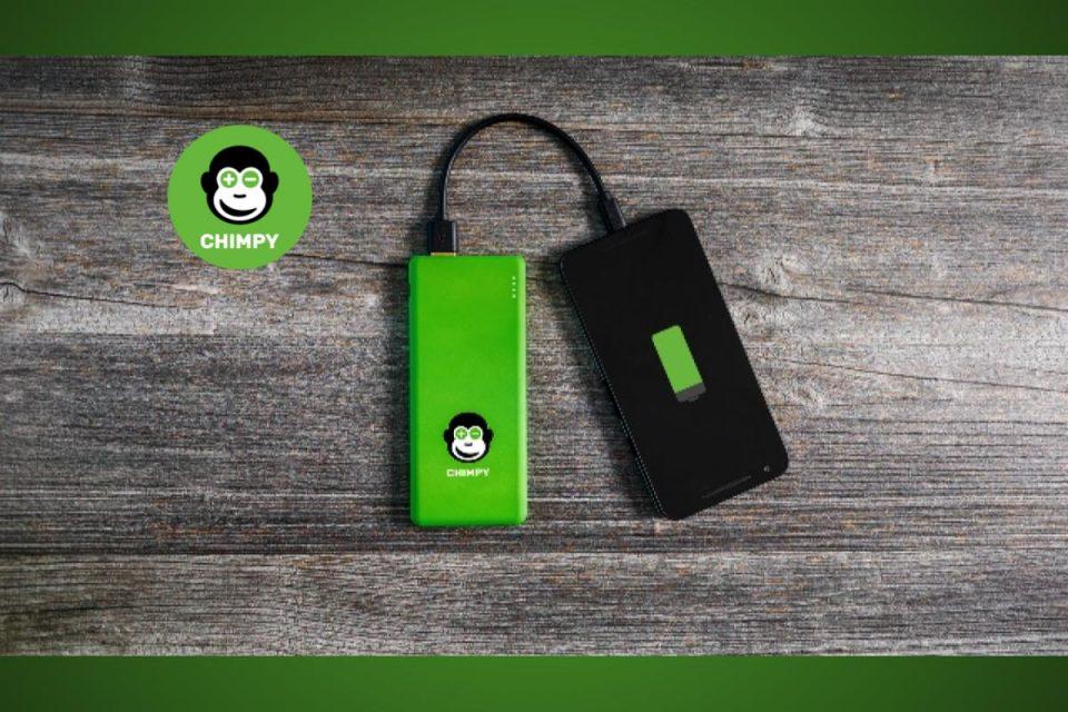 Sharing economy: anche il powerbank per caricare il cellulare si noleggia on the go grazie a Chimpy