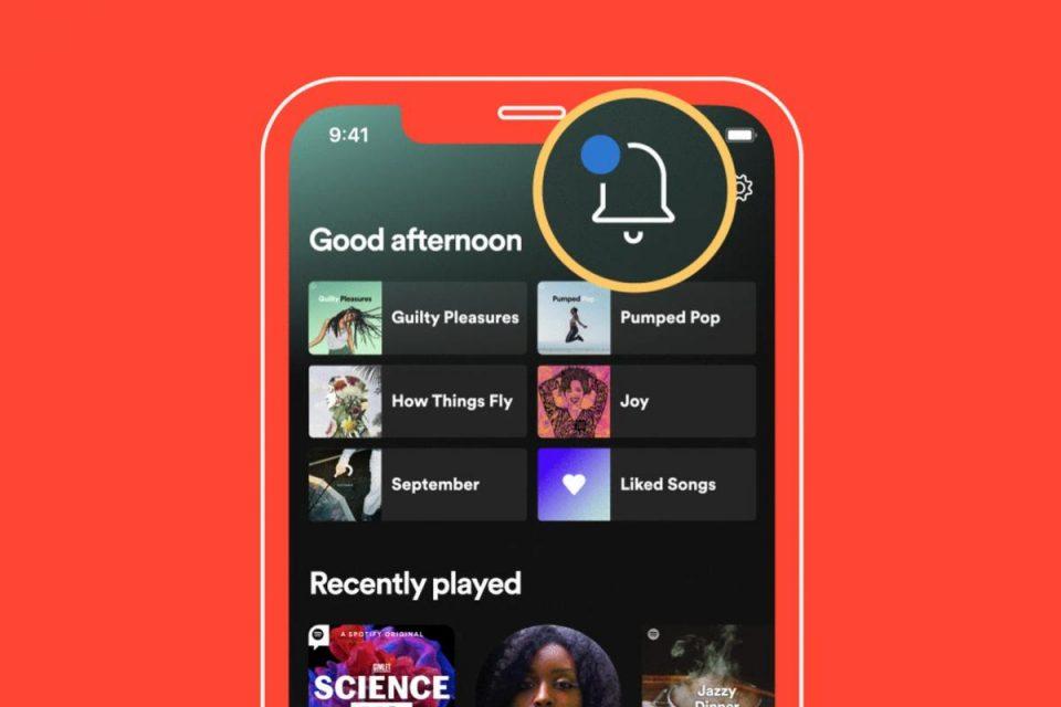 Spotify aggiunge il feed Novità per tutta la musica e i podcast che segui