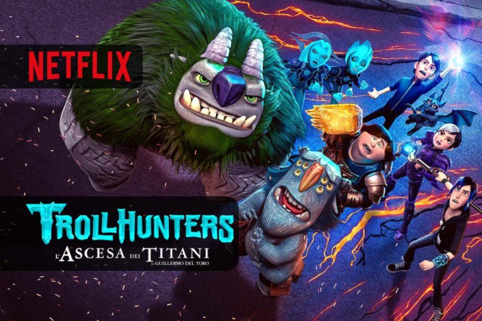 Trollhunters: L'ascesa dei Titani un film d'avventura fantasy su Netflix