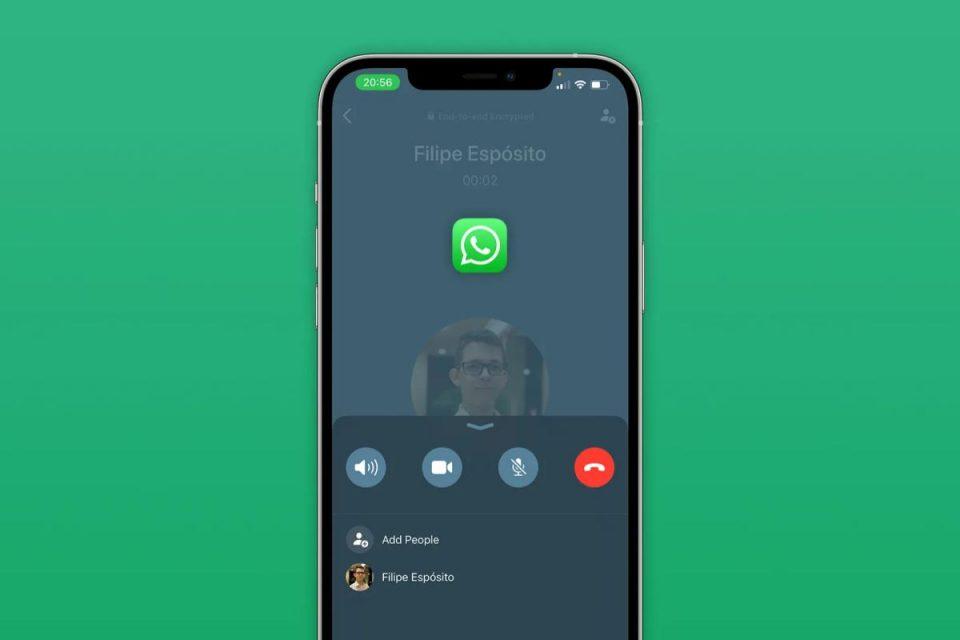 WhatsApp lancia una nuova interfaccia di chiamata per gli utenti iPhone