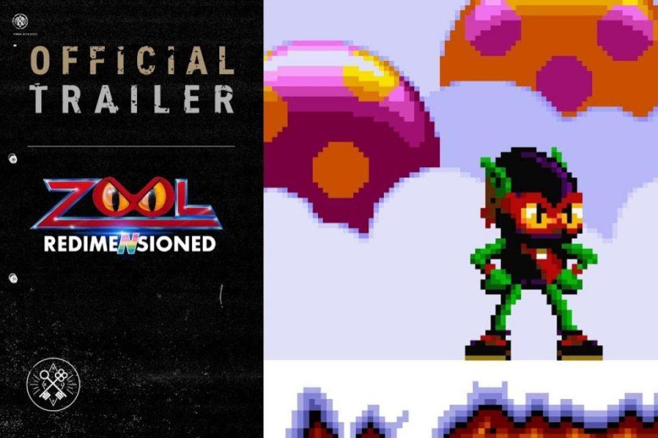 Zool il classico Amiga degli anni '90 Zool ritorna questo mese