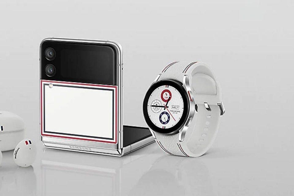 Samsung presenta l'edizione Thom Browne del Galaxy Watch 4 Classic