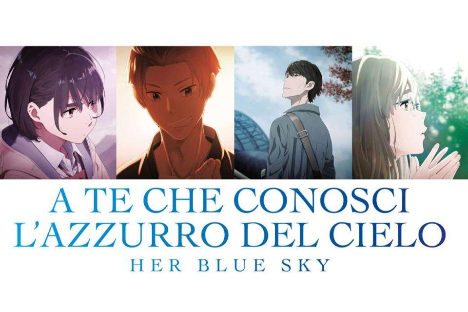 a te che conosci l'azzurro del cielo her blue sky amazon prime video