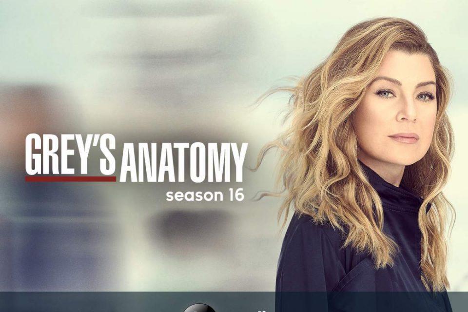 grey's anatomy stagione 16 amazon prime video