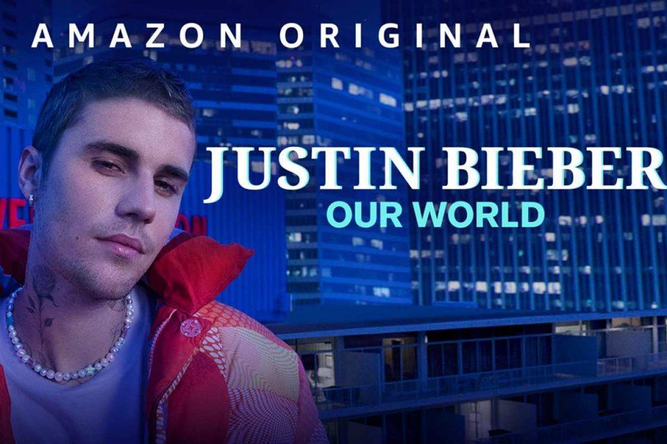 justin bieber our world amazon prime video film documentario