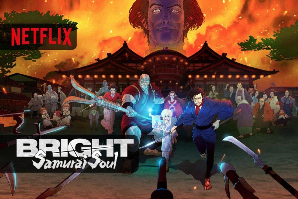 Bright: Samurai Soul arriva su Netflix un nuovo Anime di fantascienza e fantasy